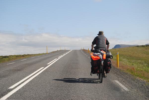 Cicloturismo en Islandia