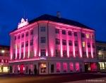 Pink October en Reikiavik por el cáncer de mama
