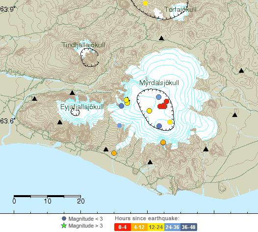 Actividad del volcán Katla