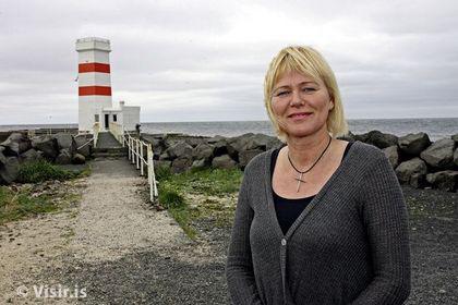 Oddný Harðardóttir, imagen de la ministra de Hacienda de Islandia
