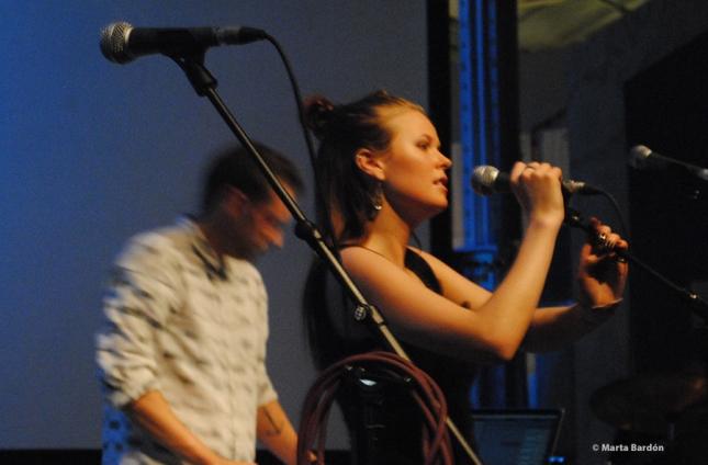 Imagen de la cantante islandesa Kúra