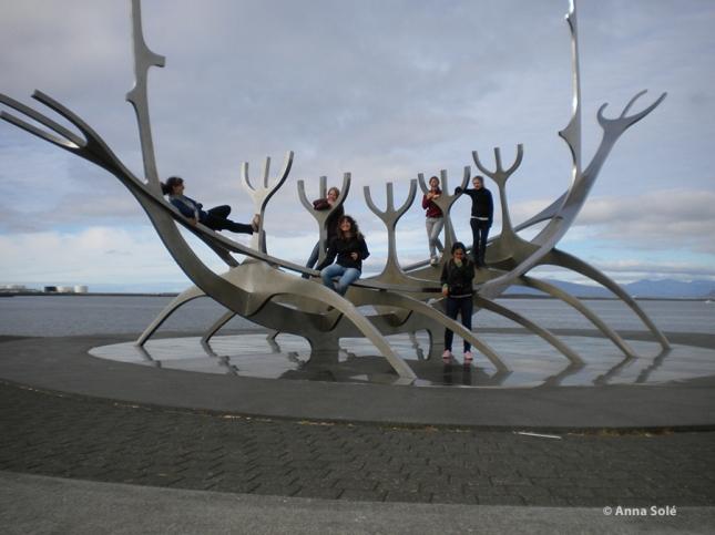 Foto de Anna en Reykjavík