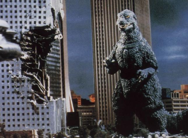 La tierra tiembla con Godzilla