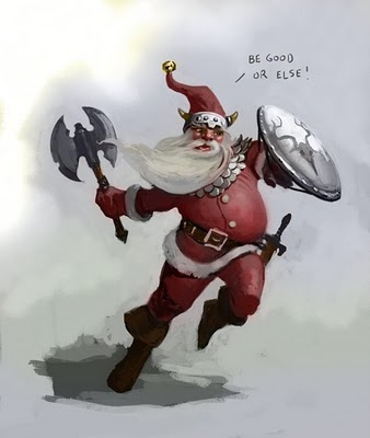 Feliz Navidad..... Vikingsanta